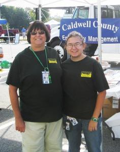 Rosemary and Michaela Hall