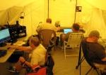 Lenoir Amateur Radio Club members during annual Field Day