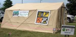 Climate-controlled emergency shelter