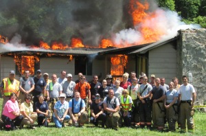 Collettsville Controlled Burn | Caldwell County NC CERT